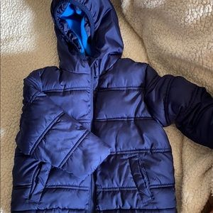 Toddler boy puffer jacket